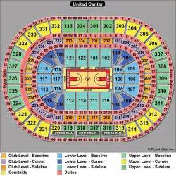 American Airlines Arena Floor Plan united center seating blackhawks bulls amp concert seating