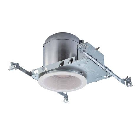 commercial led can lights commercial electric 6 in white recessed lighting housings