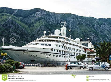 kotor cruise port cruise ship seaborn spirit kotor port montenegro