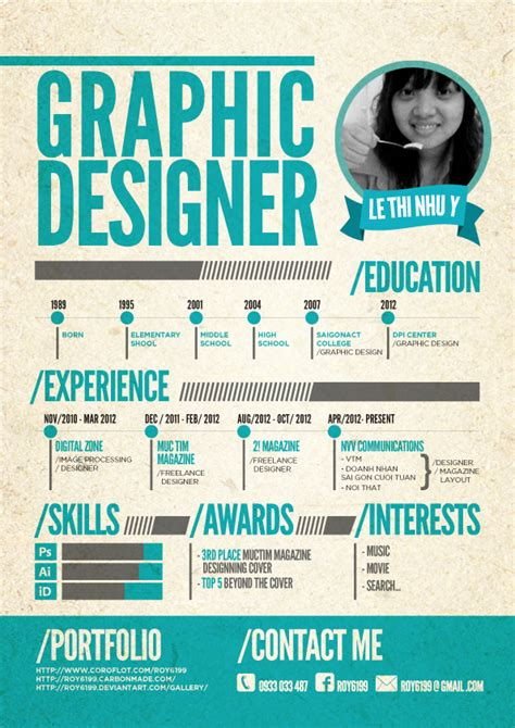 Graphic Designer Cv by Cv Graphic Designer By Roy6199 On Deviantart