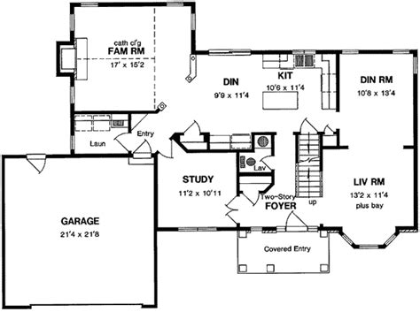 center colonial house plans center colonial 19573jf 2nd floor master suite