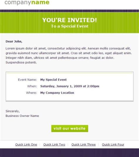 email invitation template free invitation template for email http webdesign14