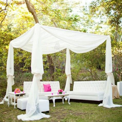 outdoor fabric canopy 28 outdoor wedding decoration ideas scallops wedding and fabrics