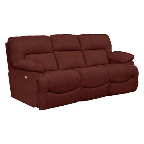 Discount Recliner Sofas La Z Boy 711 Asher Power La Z Time Reclining Sofa Discount Furniture At Hickory Park