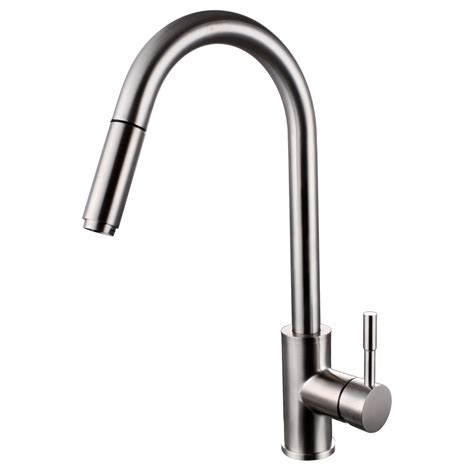 brushed stainless steel kitchen faucet kitchen decor