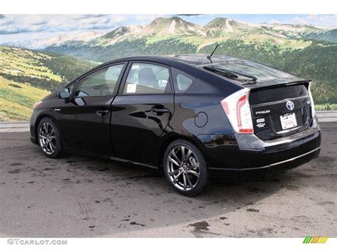 Toyota Of The Black Toyota Prius Hybrid 2013 Black