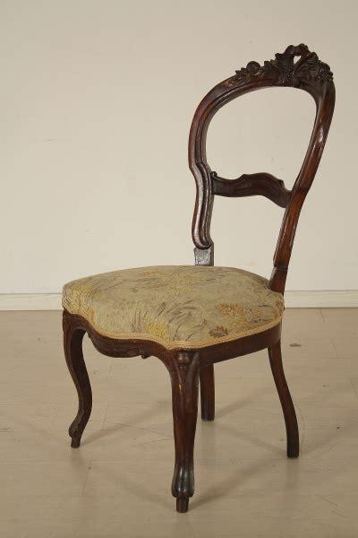 antiquariato sedie gruppo 6 sedie sedie poltrone divani antiquariato