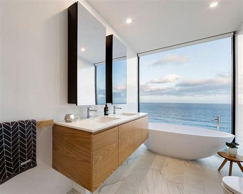 luxurious bathrooms   scenic view   ocean