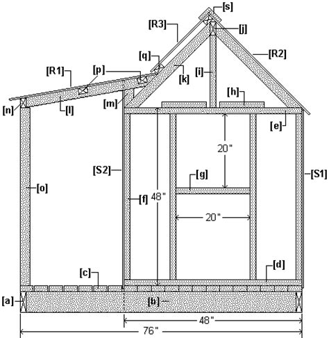 wendy house floor plans wendy house project ft and inch version