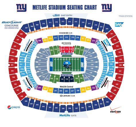 metlife stadium seating chart jets giants metlife stadium 3d seating chart