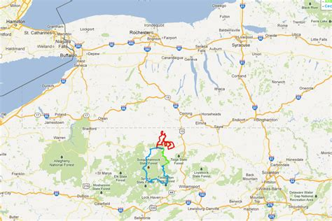 grand pennsylvania map dual sport motorcycling photos in and around the