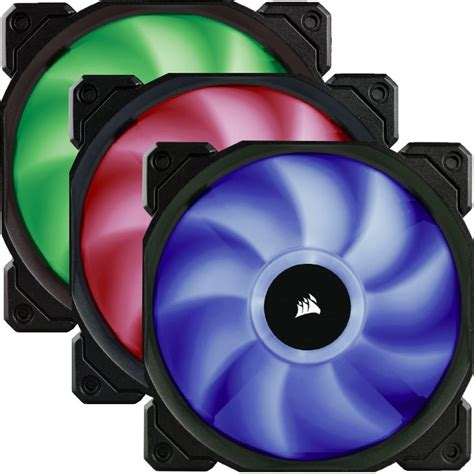 best static pressure rgb fans buy the corsair sp120 120mm fans pwm rgb led 3x 120mm