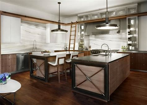industrial style kitchen island 15 outstanding industrial kitchens home design lover