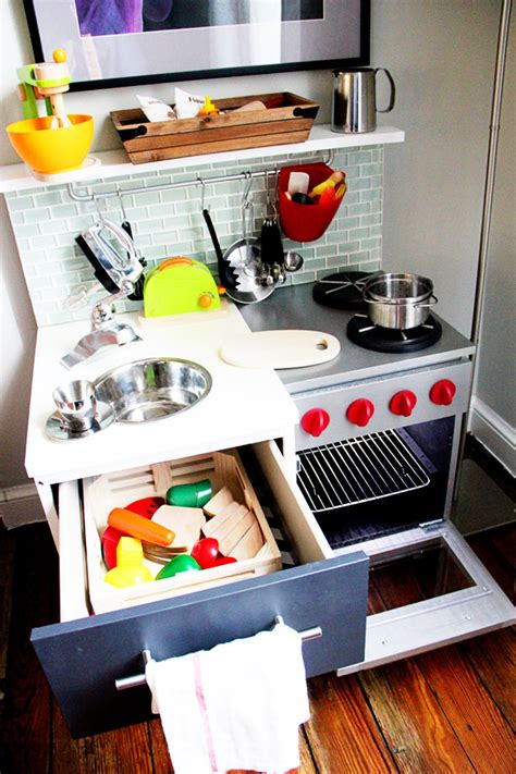 diy play kitchen ideas ethan s quot manly quot diy play kitchen