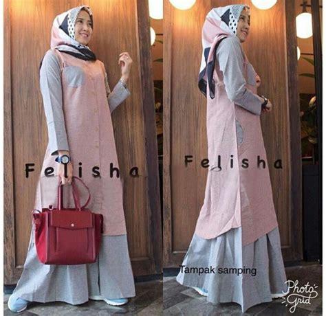 Gamis Modern gamis remaja modern maxi felisha baju muslim terbaru