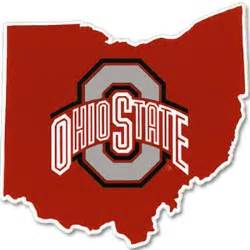 Ohio State Logo Outline by Ohio State Athletic O Ohio State Outline Colorshock Decal Everything Buckeyes Osu Fan Shop