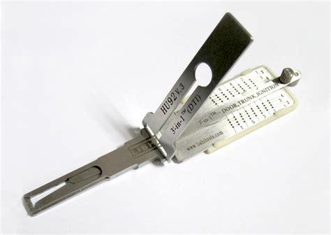 Tools 3in1fingerboard Tools standard genuine lishi tools reader decoders 2in1 3in1