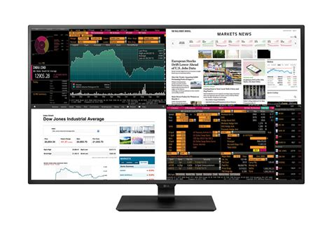 Hp Lg 5 Inchi lg s 4k monitor puts four displays in one 42 5 inch