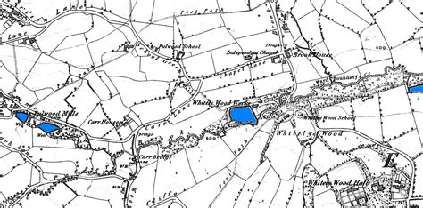 map of porter dams wheels and mills on the porter brook sheffield