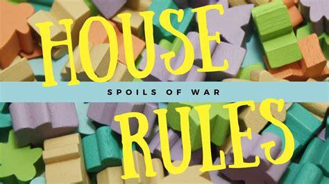 Spoils Of War Board spoils of war board review