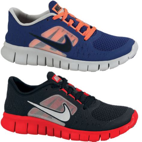 nike boys athletic shoes wiggle nike youth boys free run 3 shoes sp13 cushion