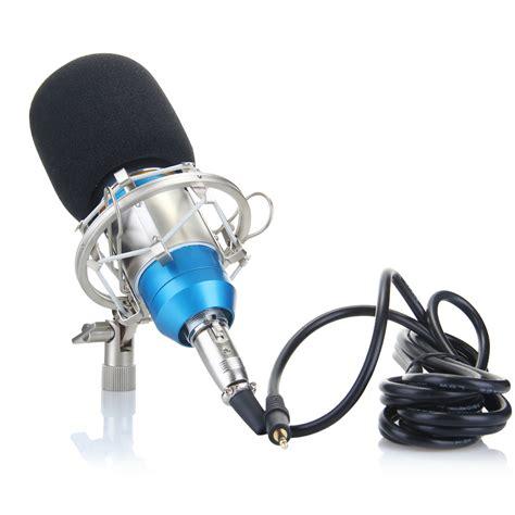 Mic Condenser Bm800 Bm 800 New Series Leihao Floureon Bm800 Audio Condenser Microphone Studio Sound