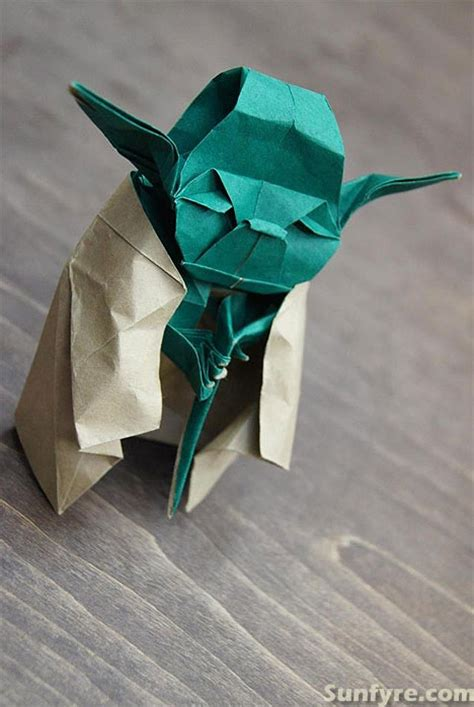 Strange Of Origami Yoda - sunfyre words from a seated position february 2012
