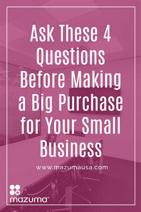 4 Questions To Make Your - ask these 4 questions before a big purchase for