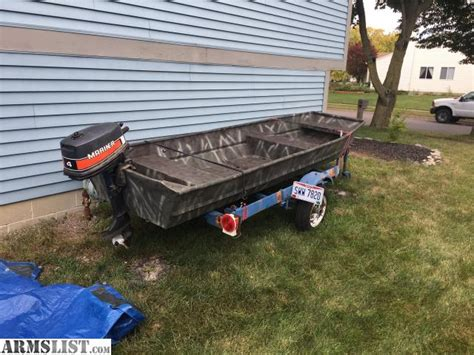 trailer for 12 foot jon boat armslist for trade 12 foot jon boat with trailer