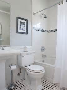 Small Bathroom Ideas Black And White by Tile Accents Bathroom Small Traditional Cape Cod Style
