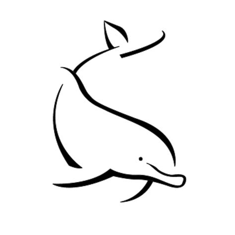 simple dolphin tattoo design simple dolphin tattoos pinterest