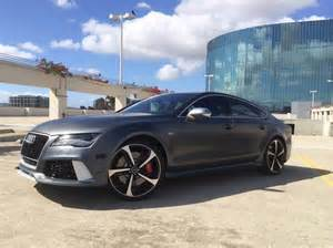 Audi Rs7 Matte Grey 2014 Audi Rs7 In Daytona Matte Gray Dynamic Package