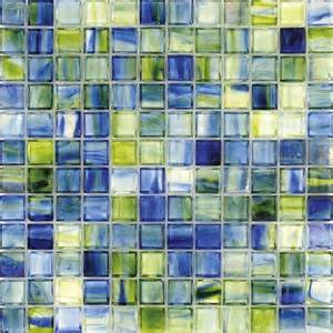 mineral tiles stained glass tile sea caribbean clear