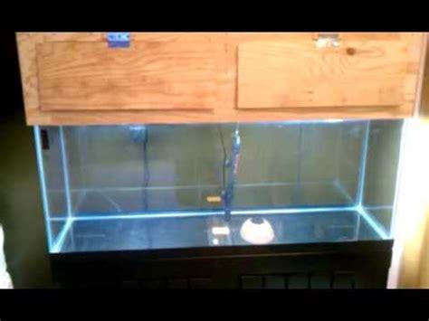 aquarium hood design diy diy 55 gallon aquarium canopy youtube