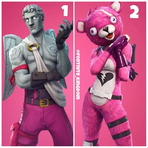 what fortnite is everyone possible valentines day skins which one do you like