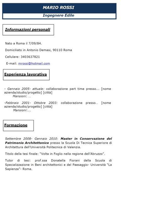 screenshots di curriculum vitae europeo da compilare m vitae europeo modelli x curriculum da compilare modelli x curriculum