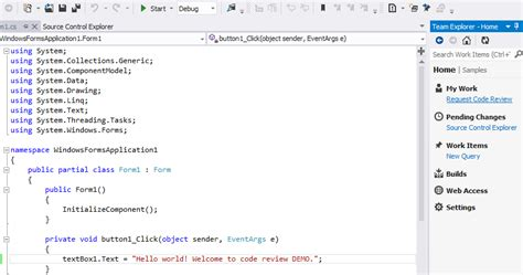 tfs code review workflow chaminda s code review with tfs 2012 and vs 2012