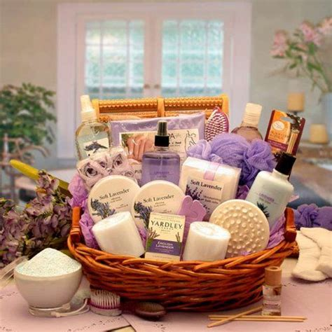 gifts for the best at home spa experience baby gizmo lavender bath body spa basket for women mothers