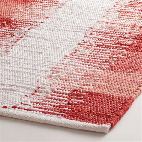 Coral Bath Rugs Coral Color Block Bath Mat World Market