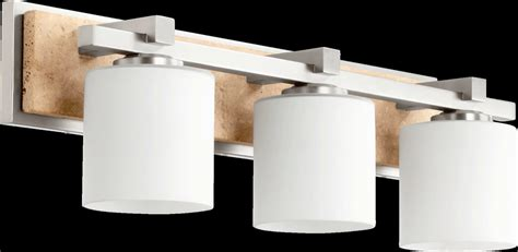 Bathroom Vanity Light Height Quorum International 5370 3 65 Satin Nickel 7 5 Quot Height 3 Light Bathroom Vanity Light