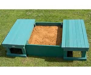 sandbox with bench lid sandbox w sliding bench seat cover sandboxes sandpits