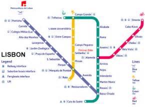 Lisbon Subway Map lisbon metro map mapscape pinterest