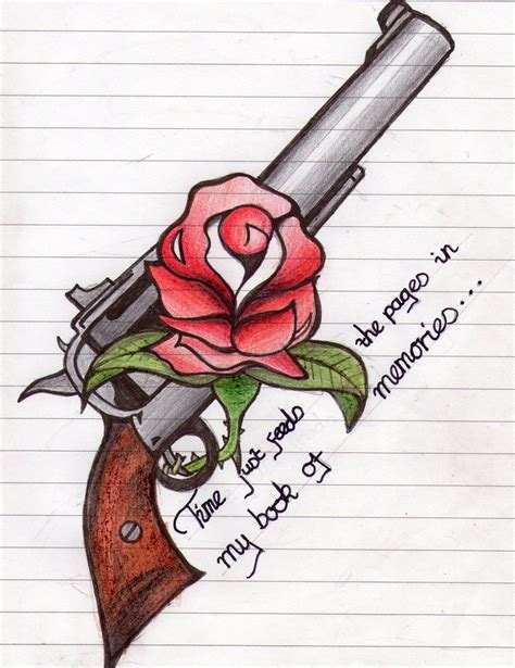 guns n roses potential tattoo design by iftheworld on
