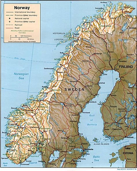 political map of scandinavia nationmaster maps of 8 in total