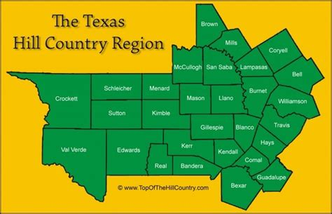 map of texas hill country area pin by jules bigelow on take me away