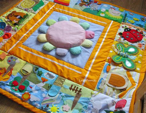 Handmade Playmat - play mat large shop on livemaster with shipping