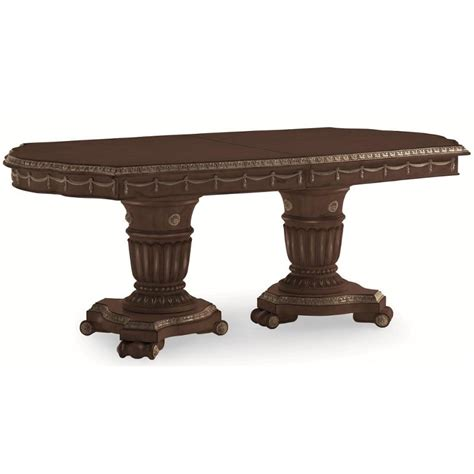 schnadig empire ii dining table 3262 936t schnadig furniture pedestal dining table