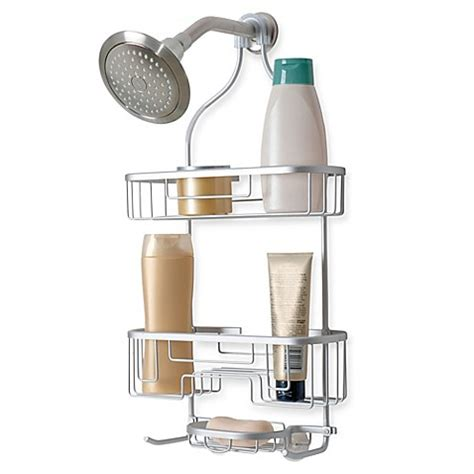 shower caddy bed bath and beyond totally bath no rust aluminum shower caddy bed bath beyond
