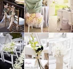 Wedding chair decoration ideas romantic decoration