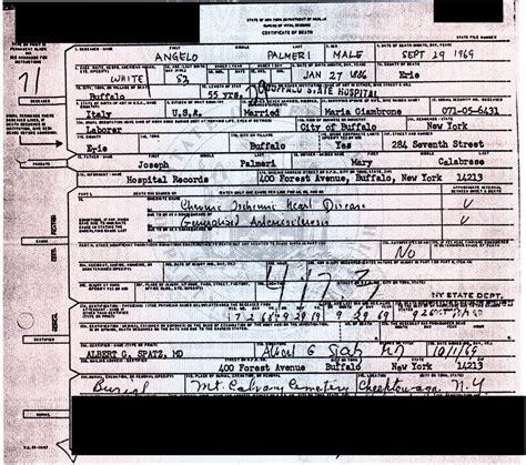Birth Records Buffalo Ny New York Genealogy And Jure Sanguinis